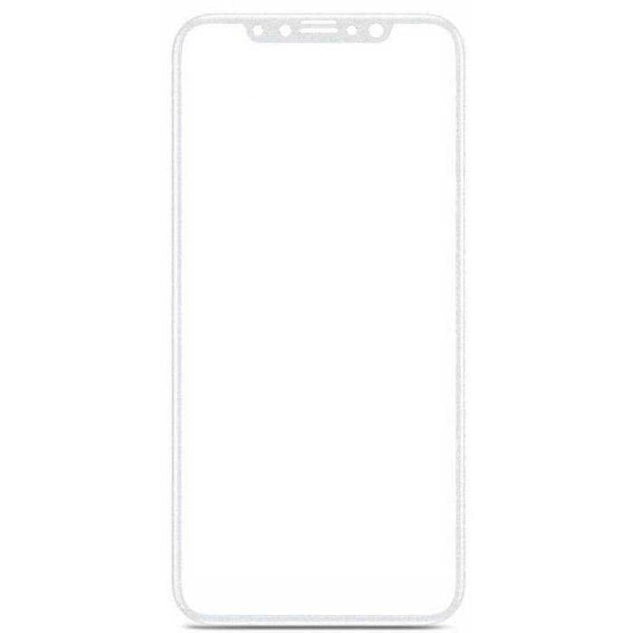 Baseus Full Cover Soft PET 3D Tempered Glass For Iphone X - Putih