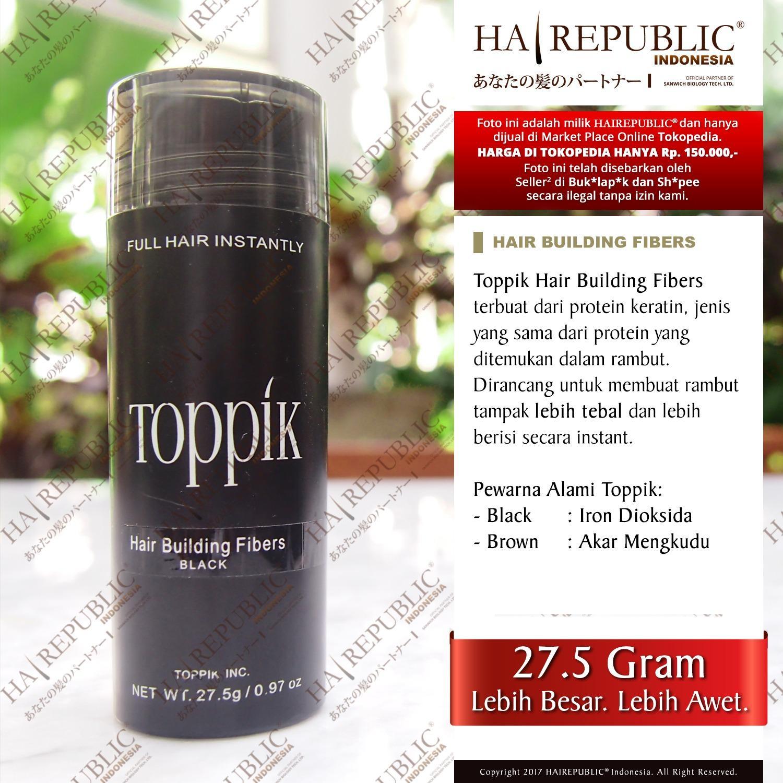 Caboki Hair Fiber 25 Gram Ori Usa Penebal Rambut 100 Original Building Fibers Gr Bukan Snap N Grip 25gr Dark Brown Source Hot Deals Toppik