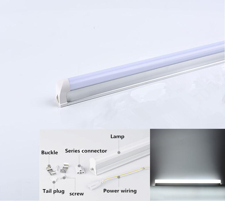 180-265V LED 60cm LED Tube T5 Integrated Light LED Fluorescent Tube Wall Lamp Singapore