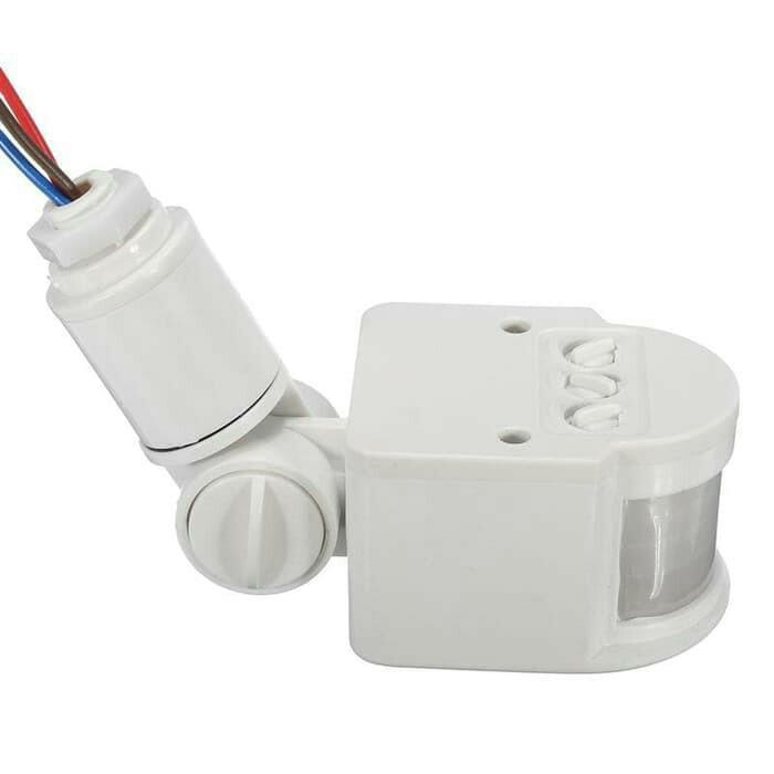Saklar lampu 220 otomatis sensor Gerak dan Cahaya
