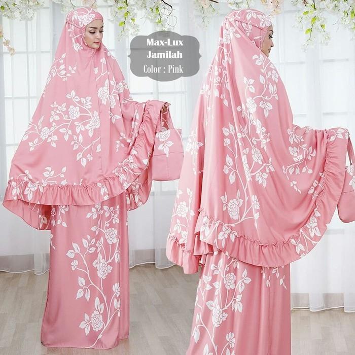 Promo Sale SN- Maxmara Lux Jamilah Premium Pink Termurah