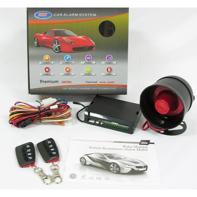 Alarm Rwb Tuk Car Alarm System - Dkfuhsw