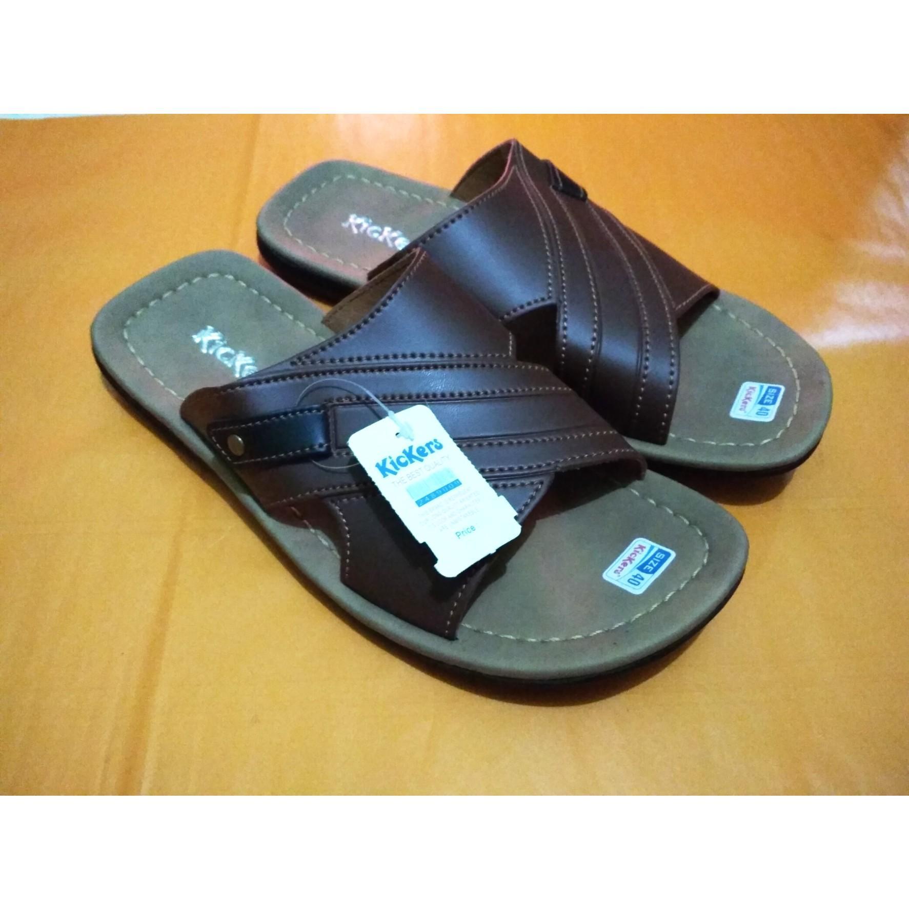 Kickers Sandal Kulit Pria - Sandal Kickers Pria - Sandal Pria Dewasa - Sandal  Kulit - ede748885e