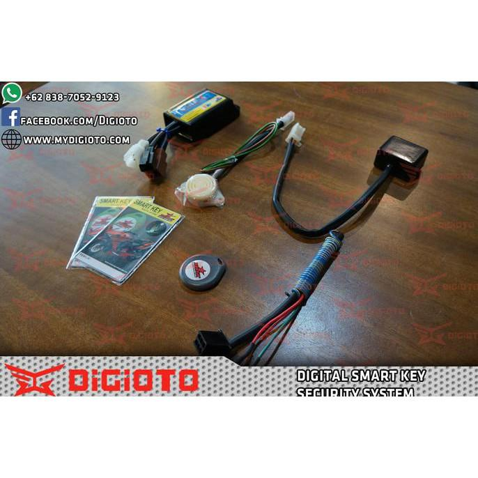 Brt Smart Key Alarm Vixion Old/New-R15-R25-Scorpio - Motomobi064