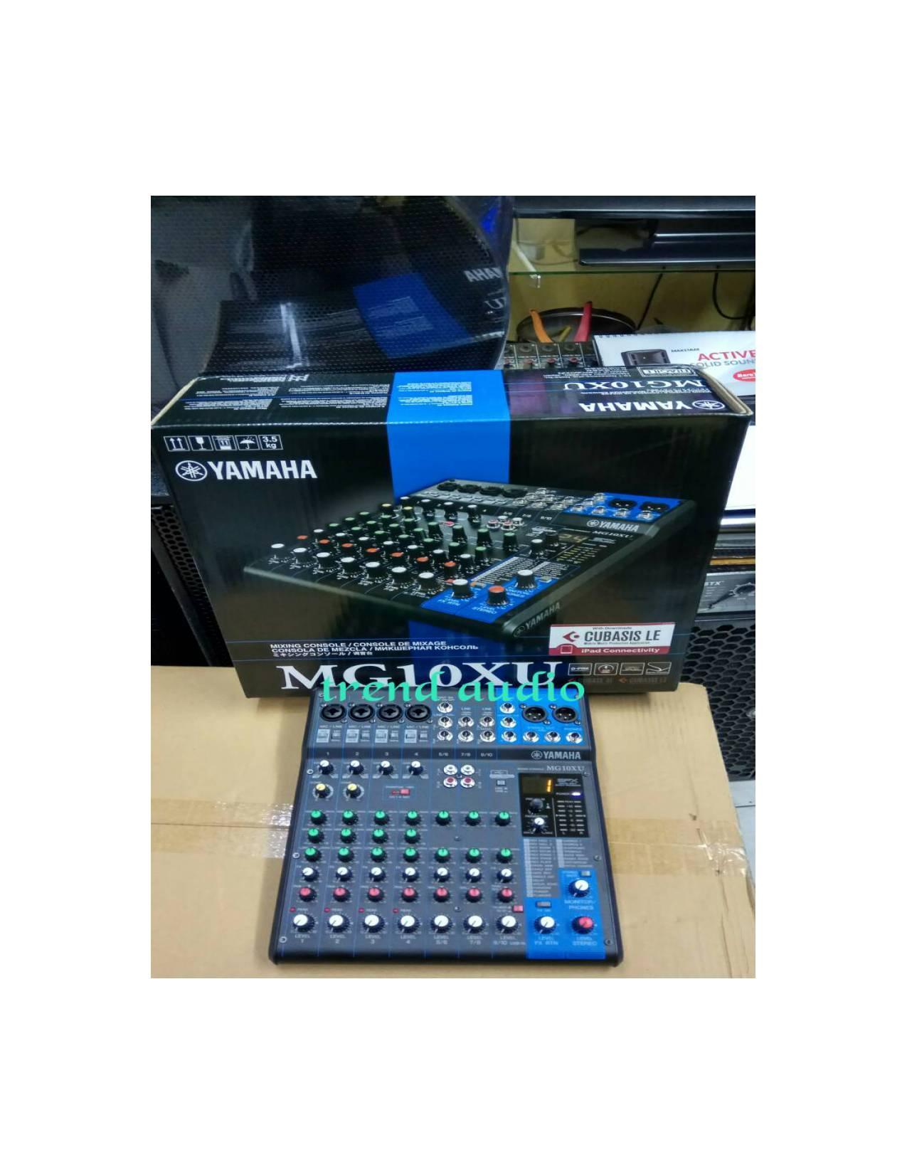 mixer YAMAHA MG10XU (original)