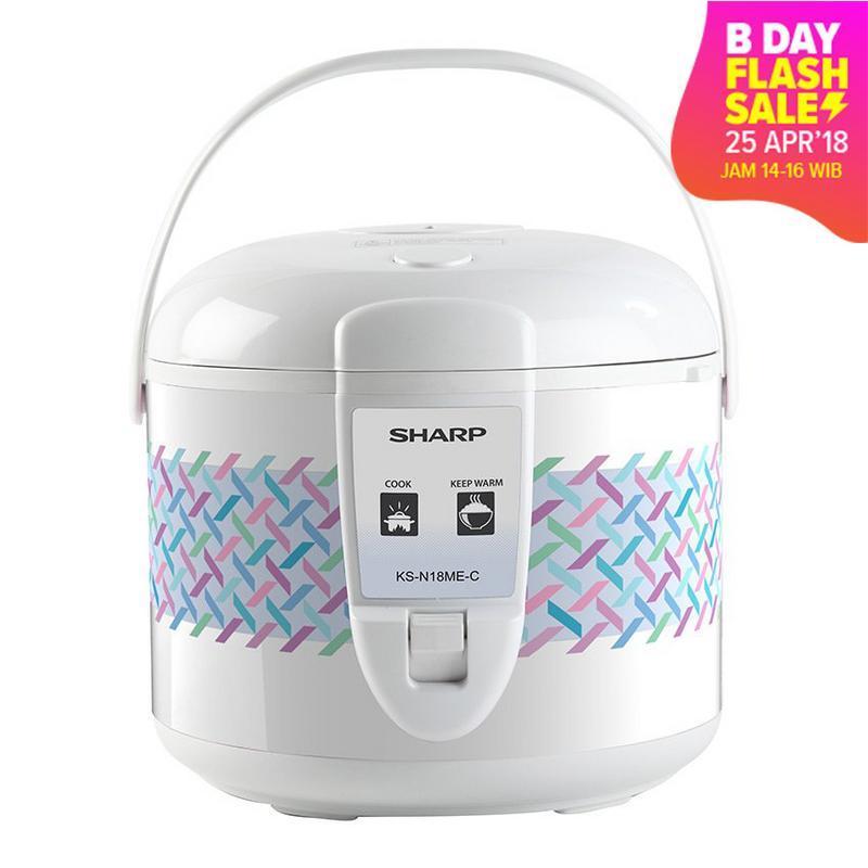 Sharp Rice Cooker KS-N18ME-C Penanak Nasi