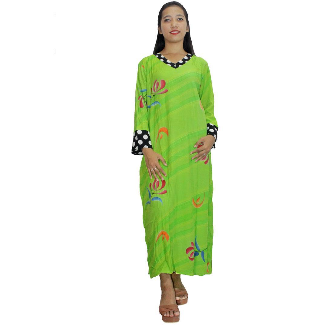 Daster Longdres Motif Benang Emas Bahan Batik Pekalongan Daftar Produk Ukm Bumn Kain Primis Sm Lengan Panjang Baju Tidur Piyama Leher V