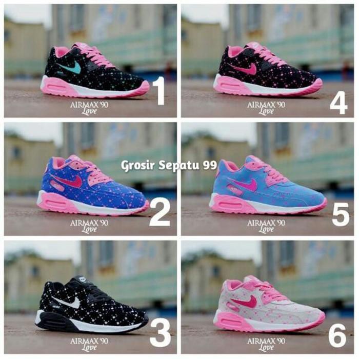 Promo Sepatu Nike Airmax T90 Love Women Untuk Wanita Dan Anak Murah Grosir Gratis Ongkir