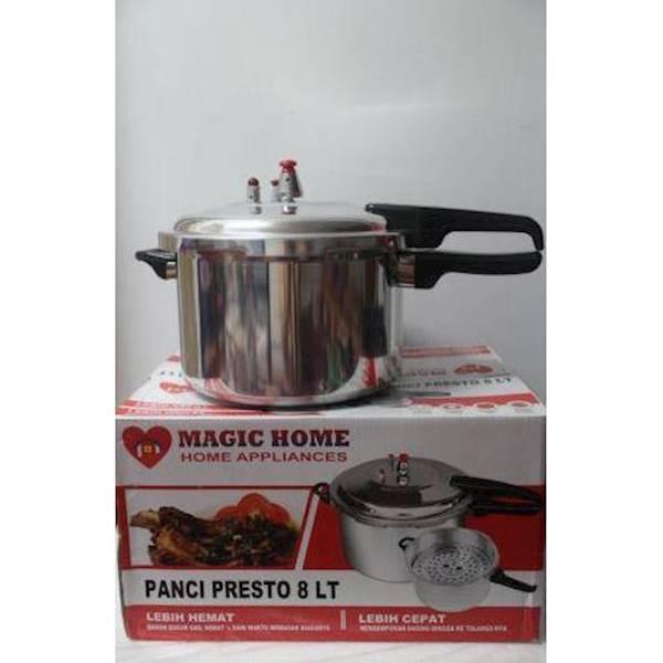 Alat Masak Presto Magic Home 8Lt Stok Terbatas !!