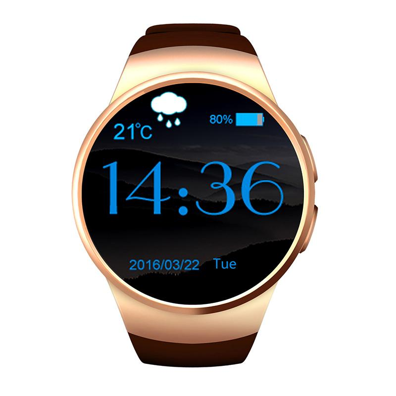 Fitur High Quality Man Watches Bluetooth Smart Watch Android Ios