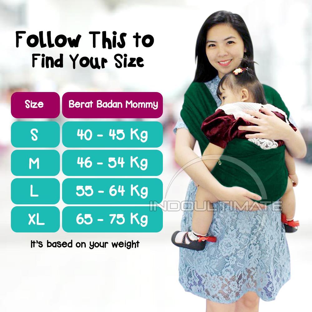 Cek Harga Baru Baby Leon Gendongan Kaos 100 Cotton 2 In 1 Geos Simple Sling Size Xl Katun