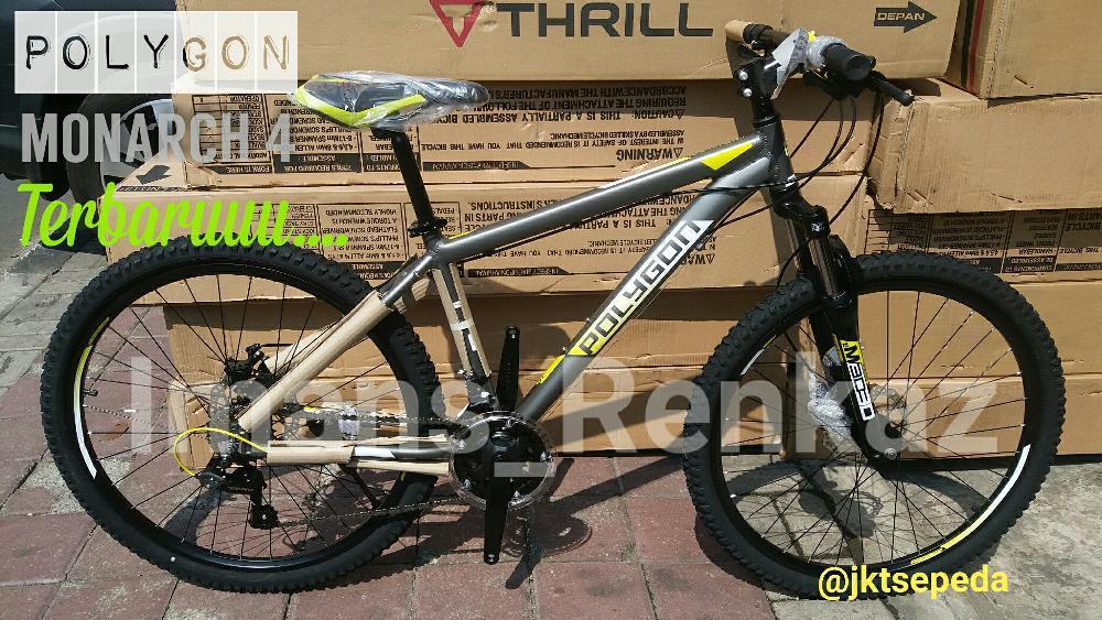 Sepeda MTB Polygon Monarch 4 Terbaru Cakram