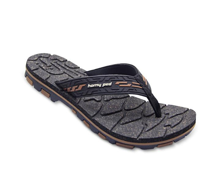 Homyped Strong 01 Sandal Sport Pria - Black/Brown