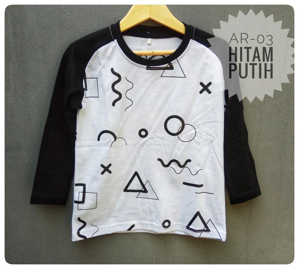 Baju Kaos Anak Premium Ocean Reef Distro Bandung AR-03 Tangan Panjang
