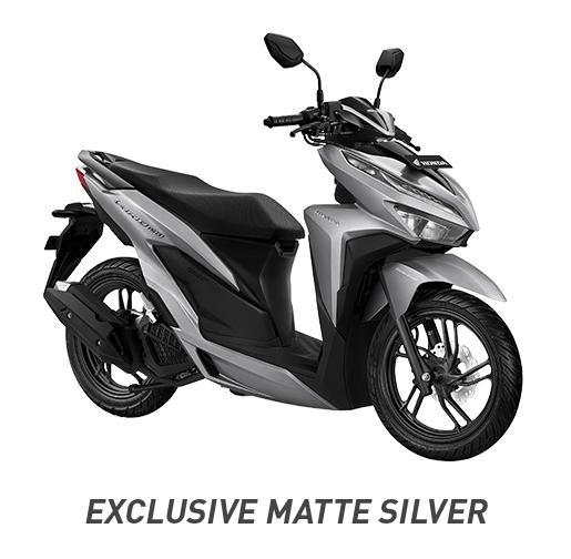 MOTOR HONDA NEW VARIO 150 EXCLUSIVE MATTE SILVER TANGERANG