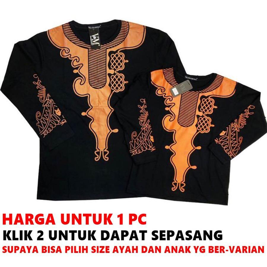 VM Baju Black Panther Ayah Dan Anak - Couple Pasangan Size Jumbo