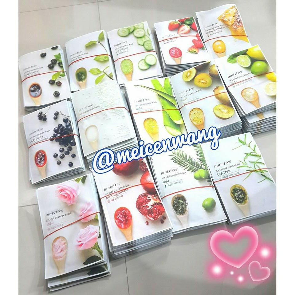Buy Sell Cheapest J S Squeeze Best Quality Product Deals Innisfree Mask Its Real Masker Wajah Sheet