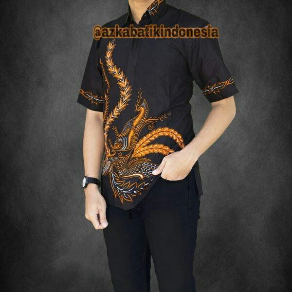 Kemeja Batik Pria Kemeja Batik Casual Modern Motif Terbaru