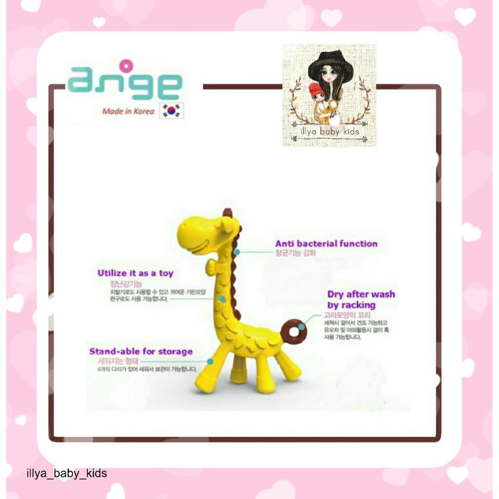 ANGE Giraffe Baby Teether / Gigitan Bayi Jerapah + BPA Free - Made in Korea / monkey