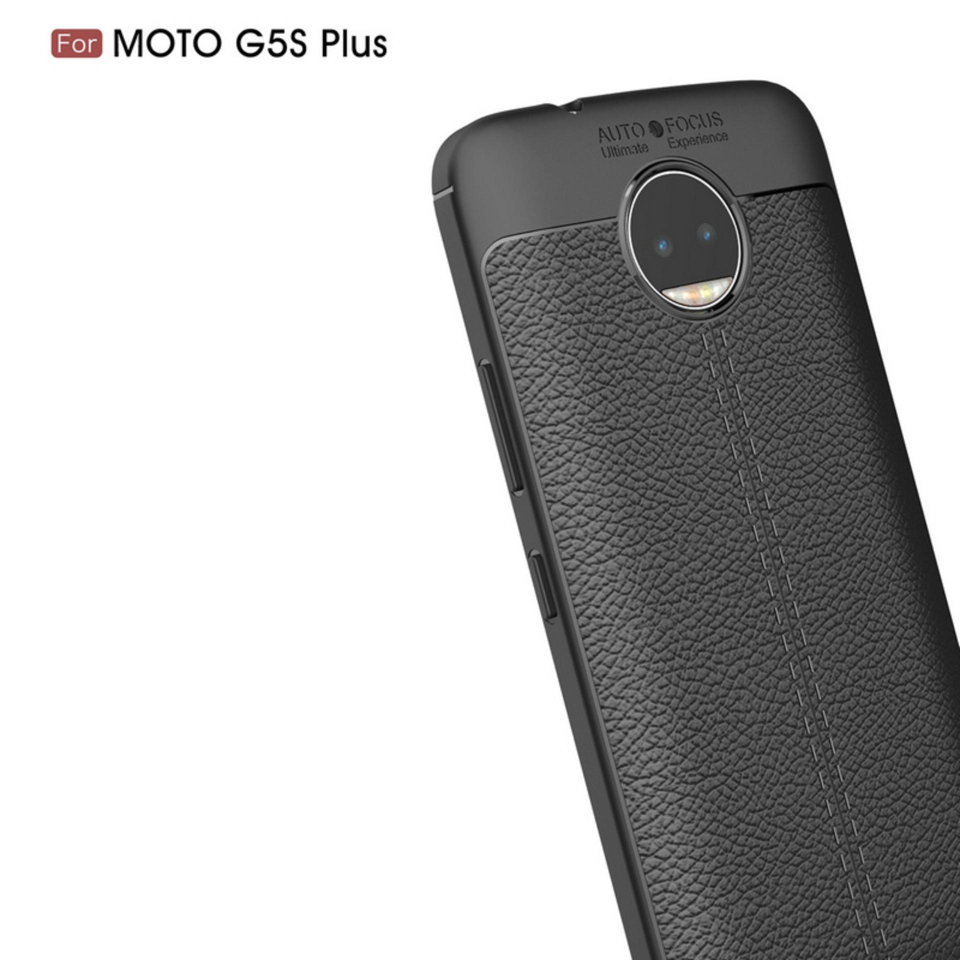 Kehebatan Accessories Hp Premium Ultimate Shockproof Leather Case Tempered Glass Motorola Moto E4 Plus Full Cover Warna For G5s
