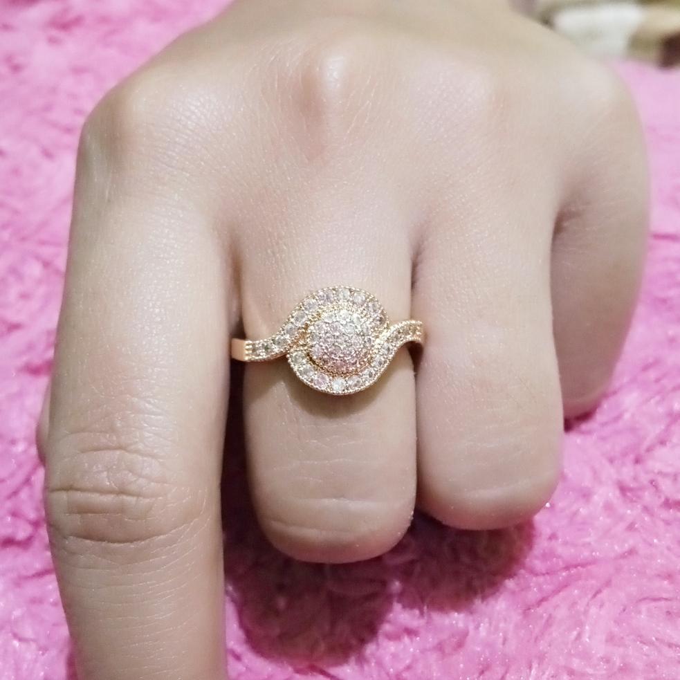 Cincin Xuping Perhiasan Wanita Model Permata - Xuping Gold