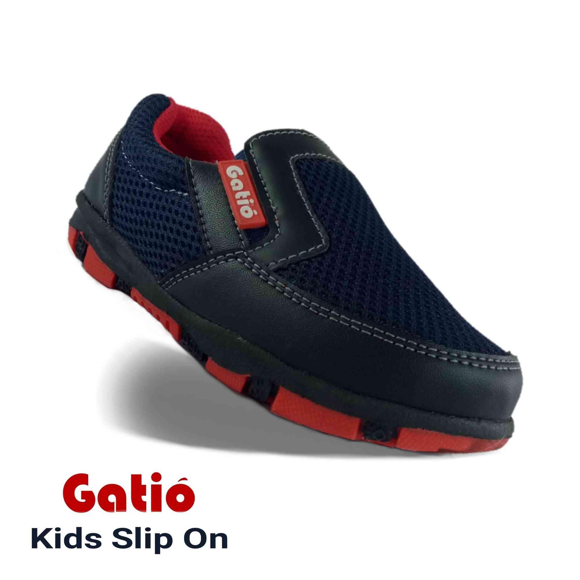 Gatio / Sepatu Anak Laki Laki Cowok / Sepatu Anak Anti Licin / Sepatu Sekolah Anak Playgrup TK / Sepatu Sneakers Anak laki laki / Sepatu Anak Laki laki cowok 2 3 4 5 6 7 tahun / Sepatu anak ukuran 28 29 30 31 32