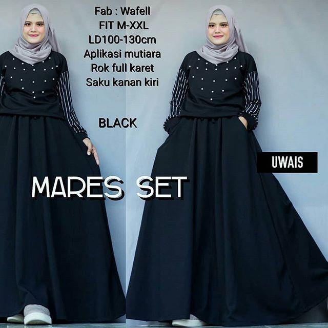 Bandingkan Harga TJK Fashion Shop Mares Set Setelan Atasan + Celana Rok  Overall Fashion Wanita Pakaian Muslim Cewek Hijab dan Info Lengkap a0bdec3b85