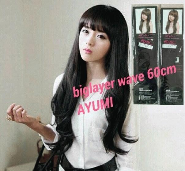 Hair Clip Big Layer Merk Ayumi Best Quality