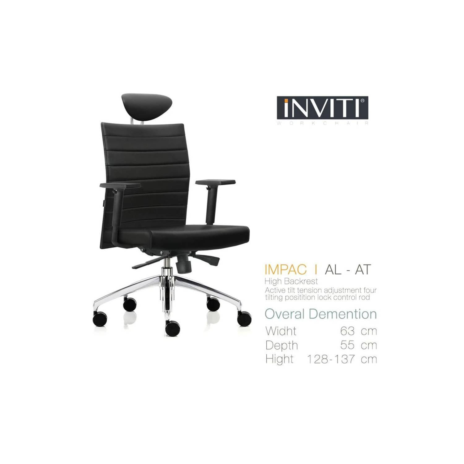 IMPAC I AL-AT Kursi Kantor (Office Chair) INVITI