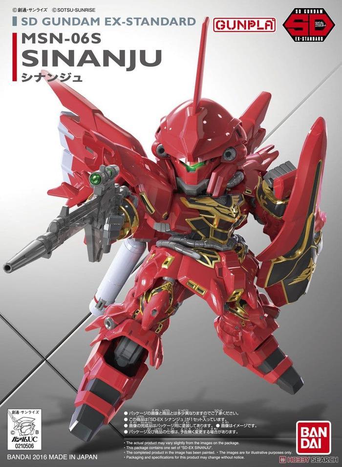 BANDAI, SD Gundam EX-Standard Sinanju