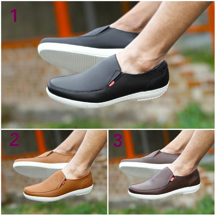 Promo Sepatu Pria Kickers Liquid Slop Casual Santai Slip On Sneakers Kerja Fashion