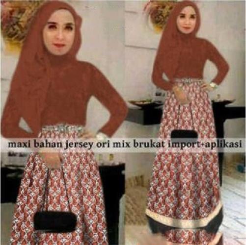 Butikonline83 - Baju Busana Muslim Wanita Murah - Fashion Ramadhan - Gamis Cewek - Terbaru 2018 - Syari - Muslimah - Remaja - Baju pesta