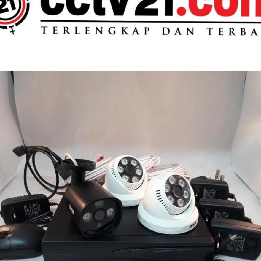 Detail Gambar PROMO PAKET CAMERA 2 INDOOR - 1 OUTDOOR 960P - DVR HD 4 CH Terbaru