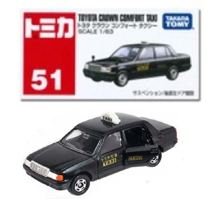 Tomica Series No 51 Toyota Crown Taxi - Npwdkt