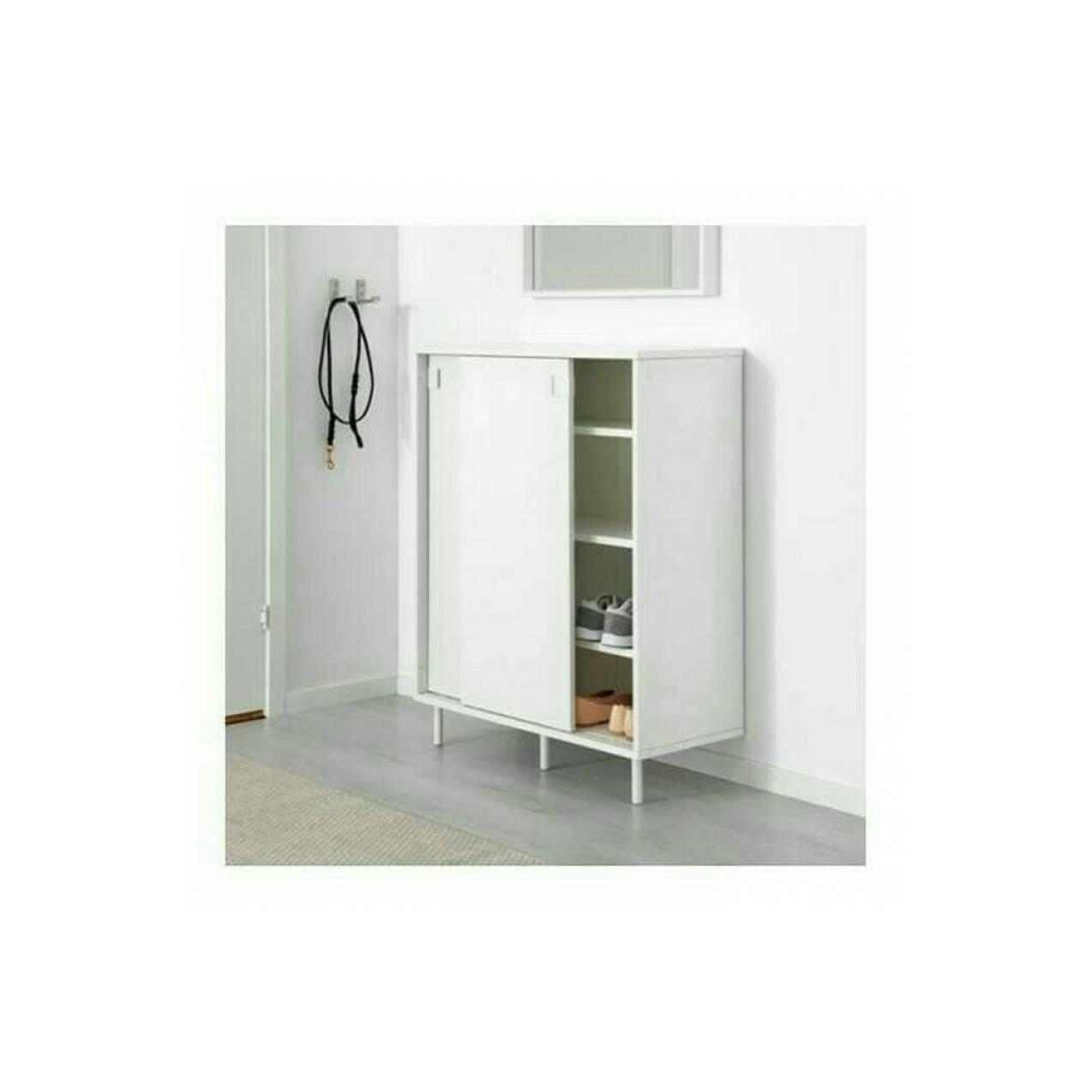 IKEA MACKAPAR Kabinet Tempat Sepatu, Lemari/ Rak Sepatu 80x102 cm