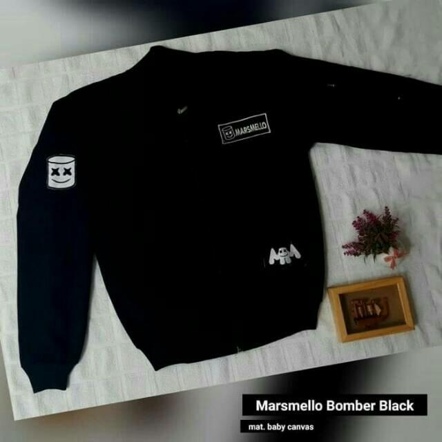 Buy & Sell Cheapest SWEATER MARSMELLOW CROP Best Quality Product Source · Jaket Marshmello Bomber Marsmello BPS Promo Marsmellow