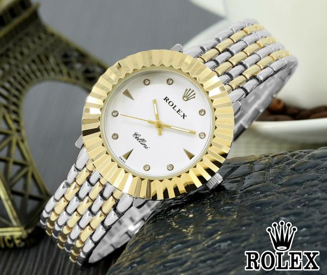 JAM TANGAN FASHION ROLEX KODE 694 TYPE ANALOG MURAH