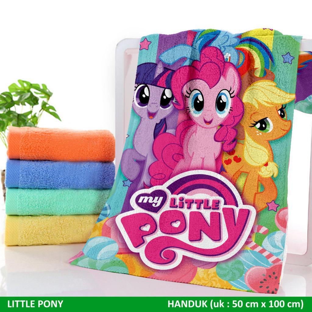 Kehebatan Handuk Bayi Dan Anak Sweet Baby Motif Kelinci 50x100cm Karakter Little Pony