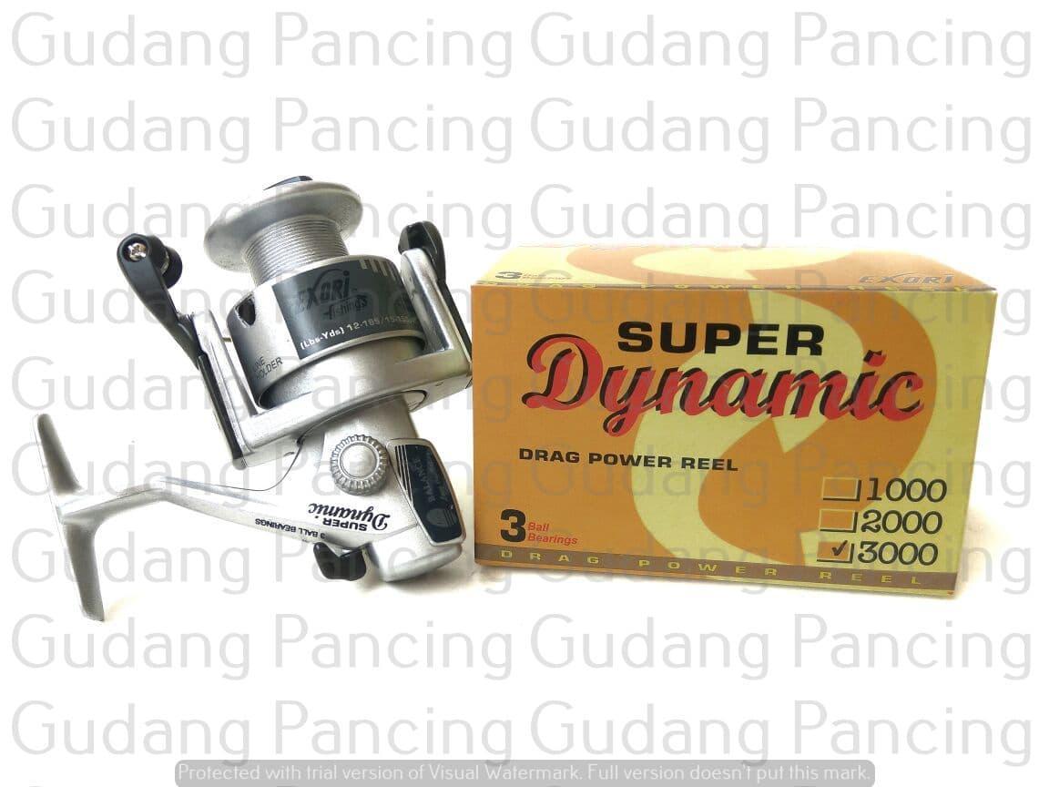 Reel Pancing Berkualitas Exori Super Dynamic 3000 Terlaris