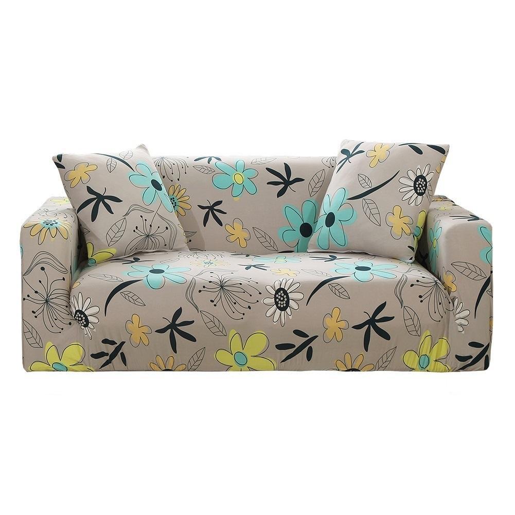 Empat Musim Elastisitas Penutup Sofa/Sofa Slipcover (L: 190-230 Cm)