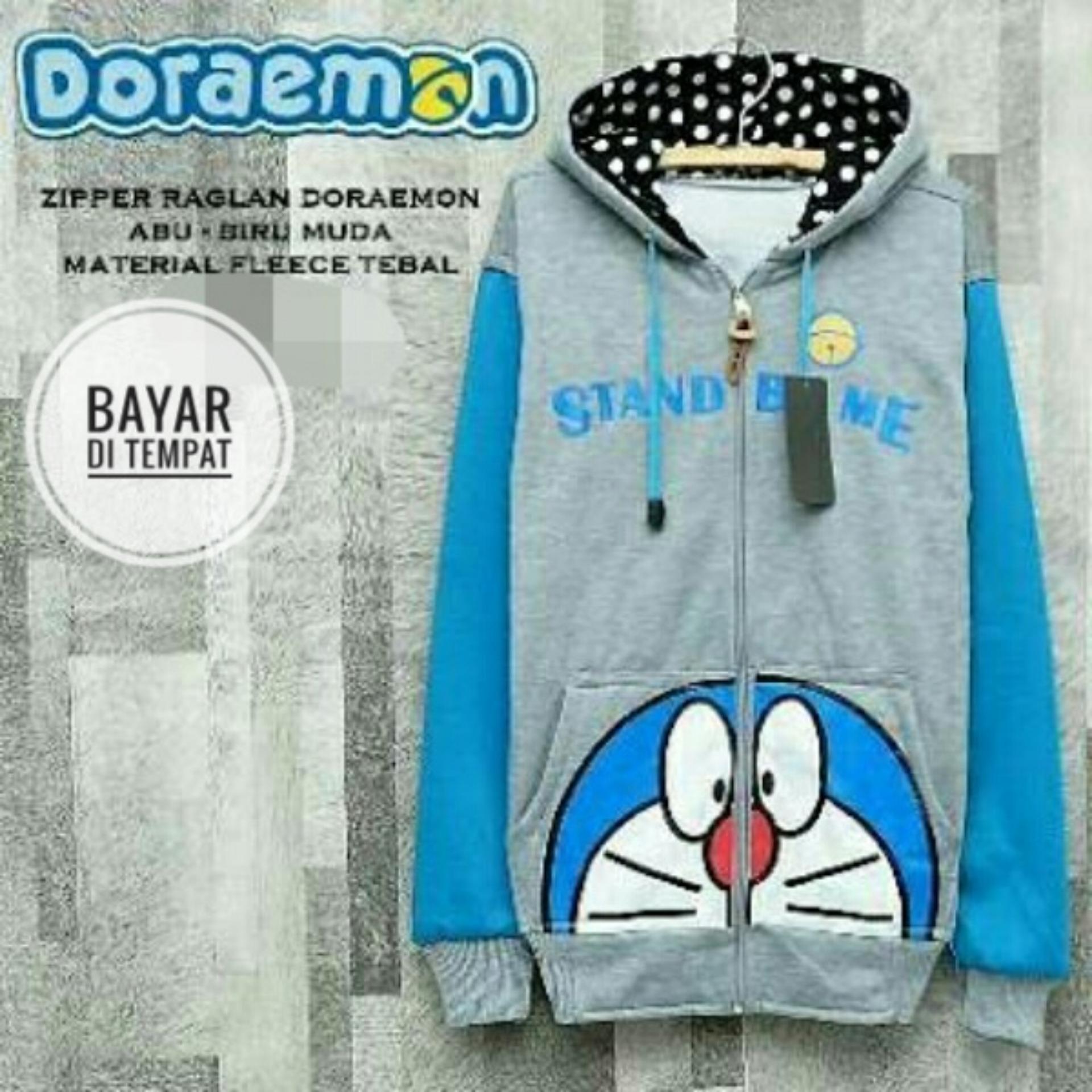 Kehebatan Jaket Hoodie Screamous Bluish Grey Dan Harga Update Sw Pria Black Doraemon Blue Best Seller