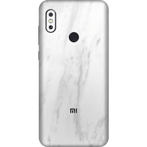 Exacoat Xiaomi Redmi Note 5 / Note 5 Pro Skin / Garskin - Marble White