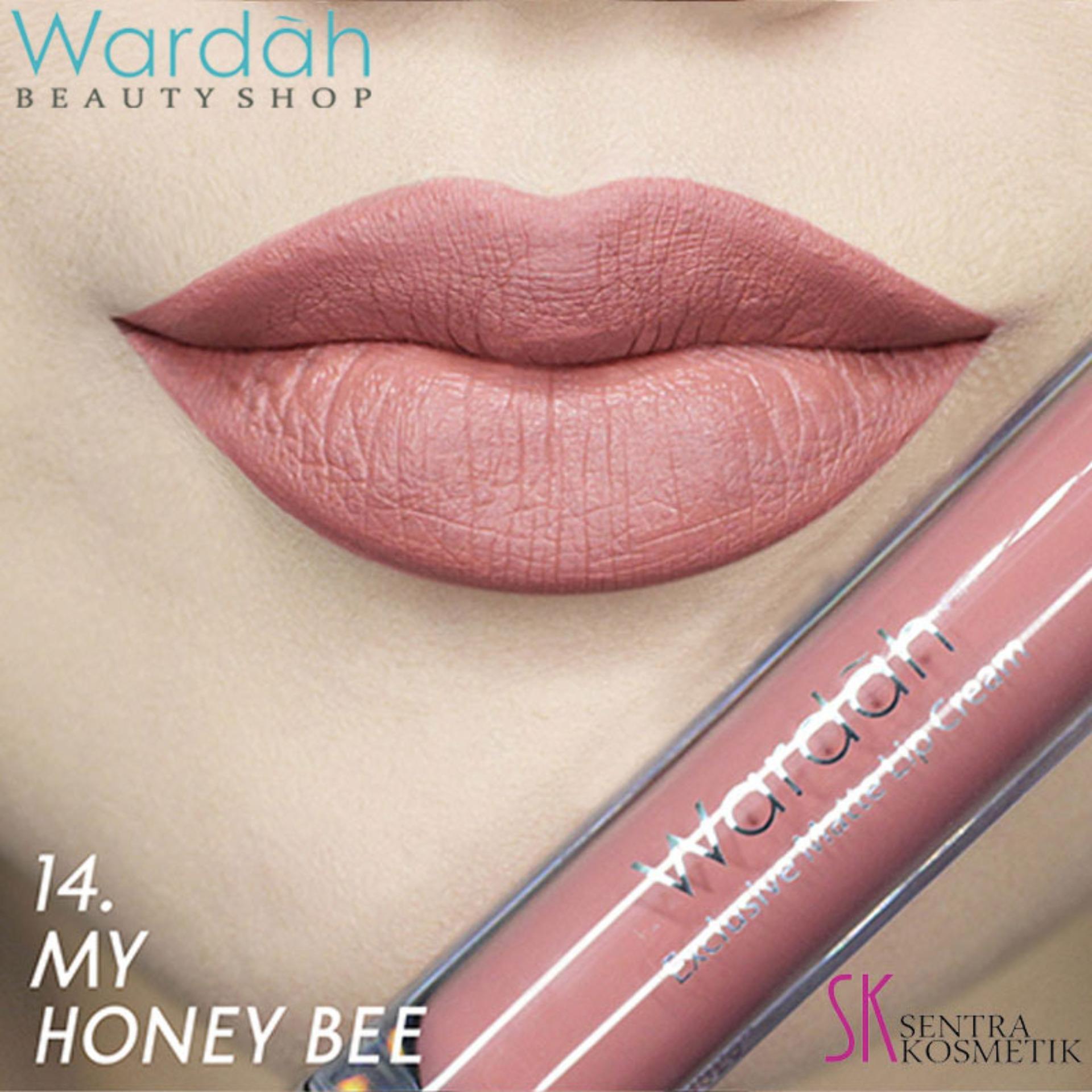 Wardah Exclusive MATTE LIP CREAM 14 - My Honey Bee