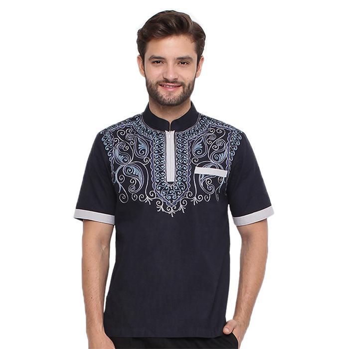 Promo ORI JSR 036 Baju koko atasan busana muslim pria java seven original Fashion