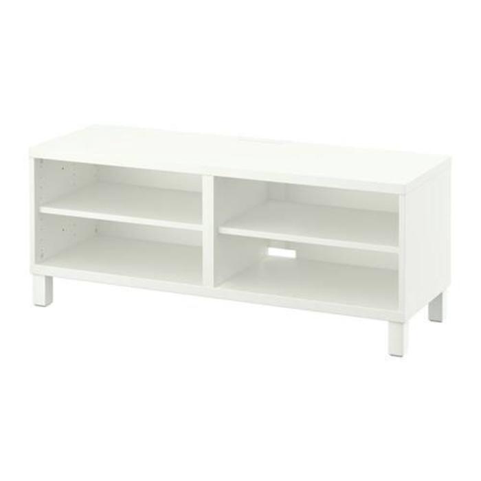 IKEA BESTA Meja TV 140x40x48 cm - Putih