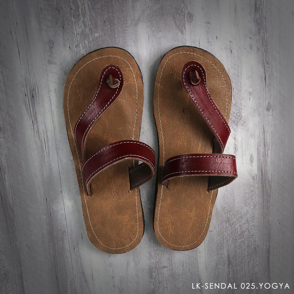 Sandal Jogja Murah - Jepit - Maroon - 68294 - RTA0718