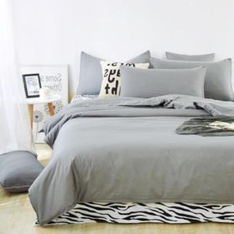 Pencarian Termurah Ellenov Abu Bed Cover Set Katun Jepang Super harga penawaran - Hanya Rp505.