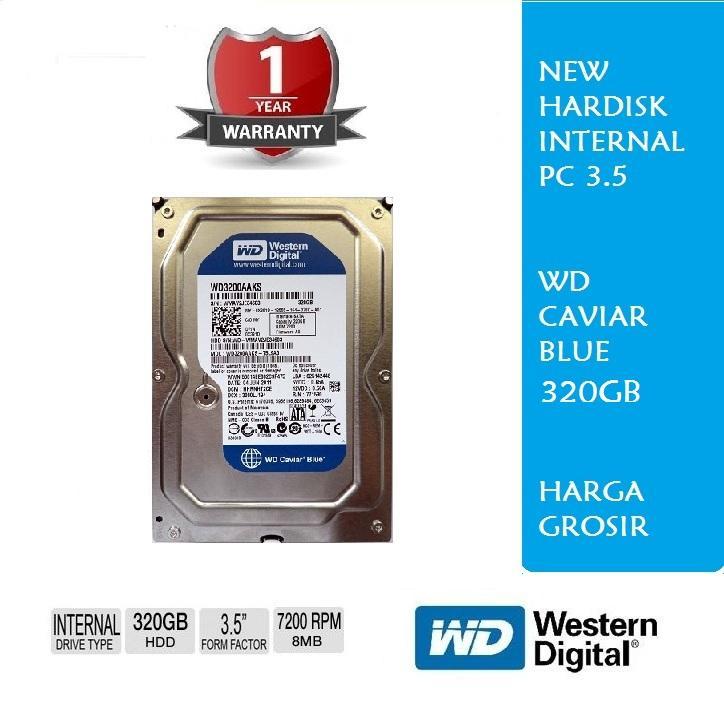 Hardisk Internal 320GB PC WD Blue