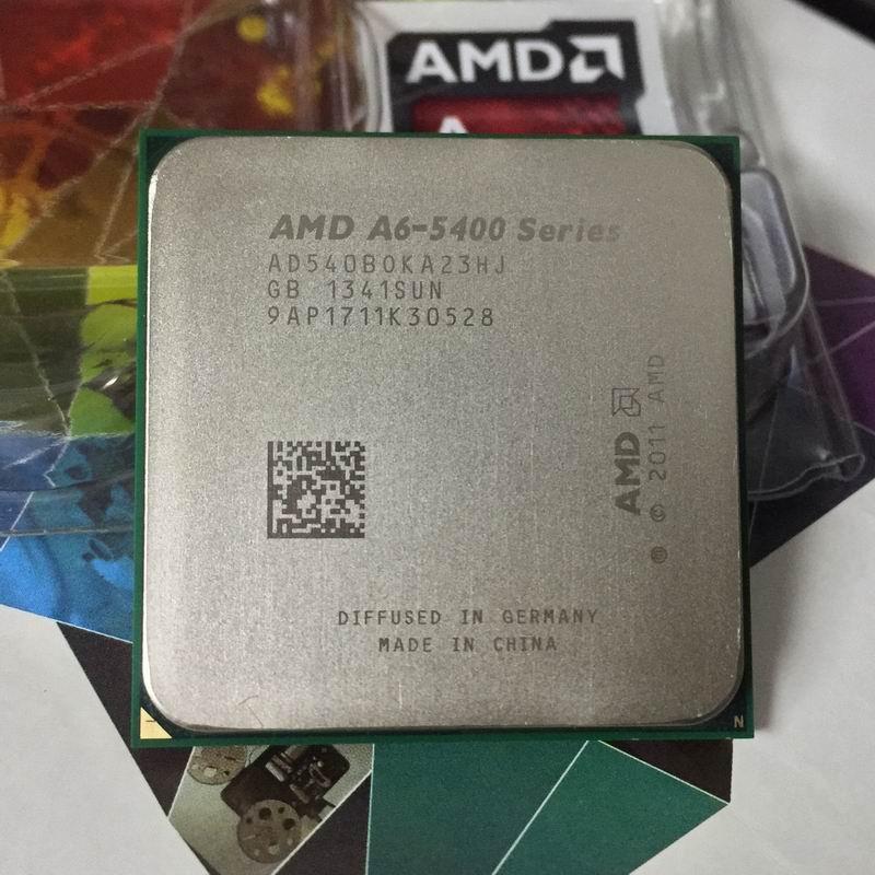 AMD FM2 A6-5400 CPU 3.6 GHz/1 M 65 W APU Integrierte Grafis 904 Pin CPU Jual A4-5300 6300 desktop Prosesor-Intl
