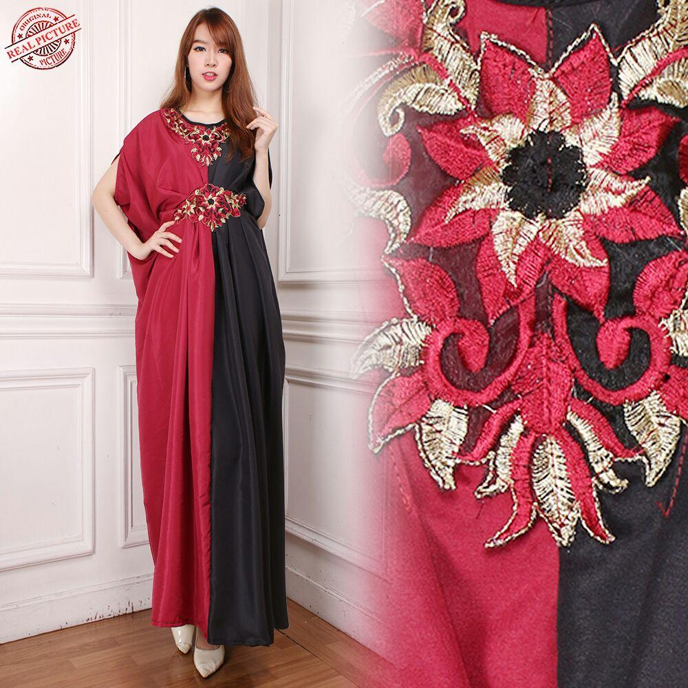 Miracle Dress Maxi Aida Longdress Kaftan Gamis Jumbo Batik Wanita